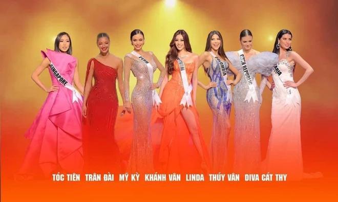 Có thể bạn chưa biết: Tóc Tiên, Thúy Vân, Lương Mỹ Kỳ... cũng đi thi Miss Universe với Khánh Vân ở Mỹ! - ảnh 3