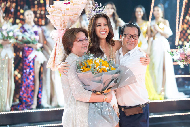 Nổ link tương tác 15 lần trong 24 giờ, bố Khánh Vân chính là fan cuồng đáng yêu nhất khi con gái chinh chiến tại Miss Universe - ảnh 9