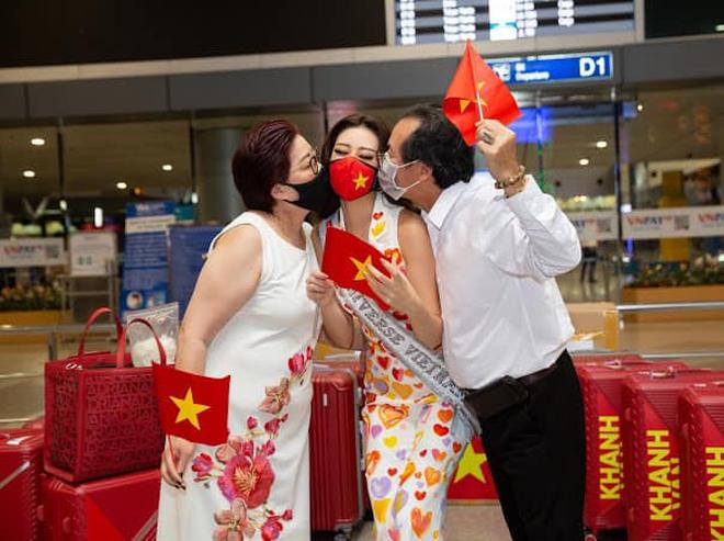 Nổ link tương tác 15 lần trong 24 giờ, bố Khánh Vân chính là fan cuồng đáng yêu nhất khi con gái chinh chiến tại Miss Universe - ảnh 7