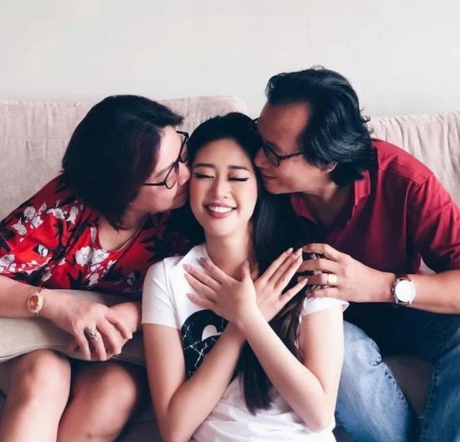 Nổ link tương tác 15 lần trong 24 giờ, bố Khánh Vân chính là fan cuồng đáng yêu nhất khi con gái chinh chiến tại Miss Universe - ảnh 8