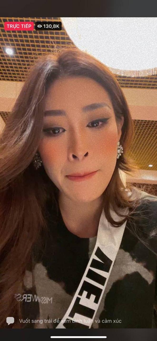 Trước thềm Chung kết Miss Universe, Khánh Vân chứng tỏ sức hút cực khủng, livestream có hơn 130K người xem trực tiếp! - ảnh 4