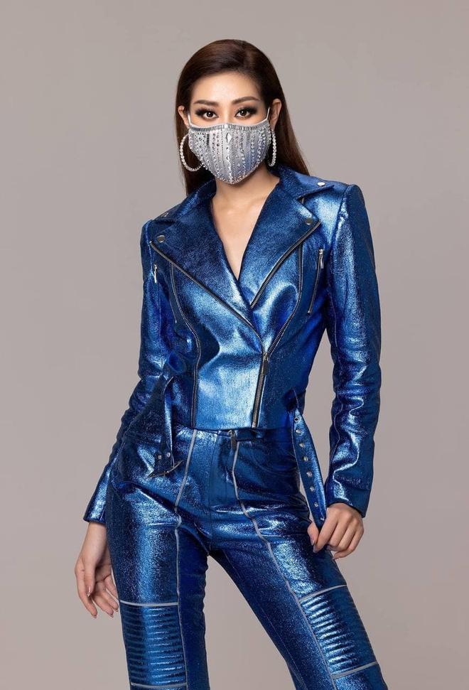 Khánh Vân đi thi Miss Universe với tủ đồ toàn NTK lạ hoắc nhưng chất lượng thì miễn chê! - ảnh 1