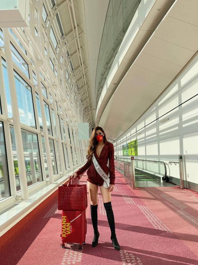 Khánh Vân đi thi Miss Universe với tủ đồ toàn NTK lạ hoắc nhưng chất lượng thì miễn chê! - ảnh 7
