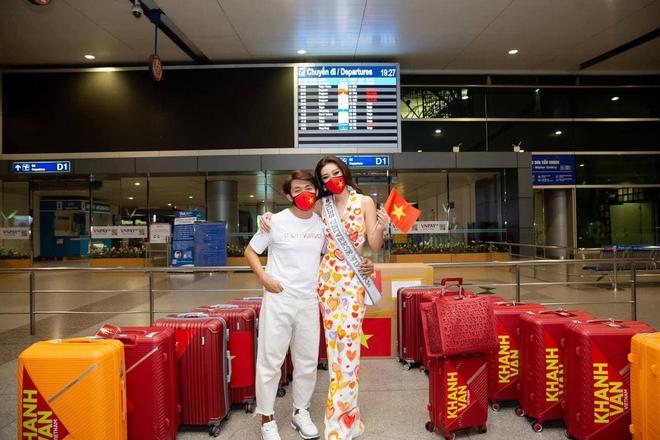 Khánh Vân đi thi Miss Universe với tủ đồ toàn NTK lạ hoắc nhưng chất lượng thì miễn chê! - ảnh 10
