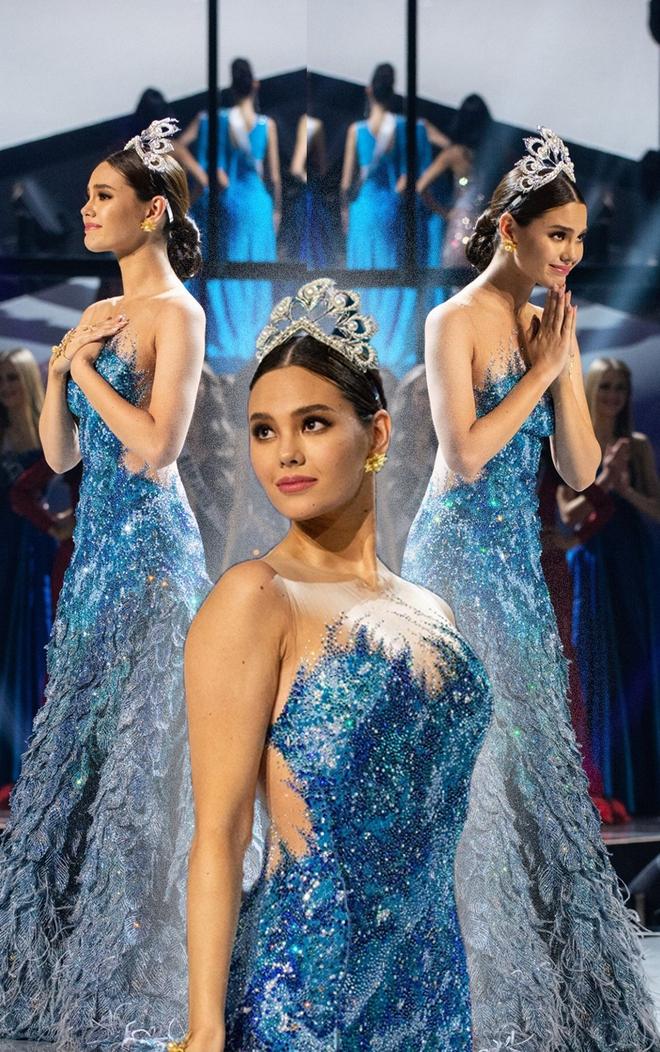 Fan quốc tế chỉ điểm Hoa hậu Thái Lan đạo nhái Miss Universe 2018, từ cái đầm đến kiểu catwalk không chừa miếng nào? - ảnh 1