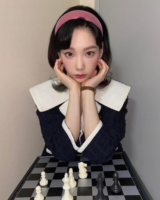 Taeyeon rơi lông mày nhờ người tìm gấp, fanti tri ân luôn cho chị 1 lô quà khó quên - ảnh 1