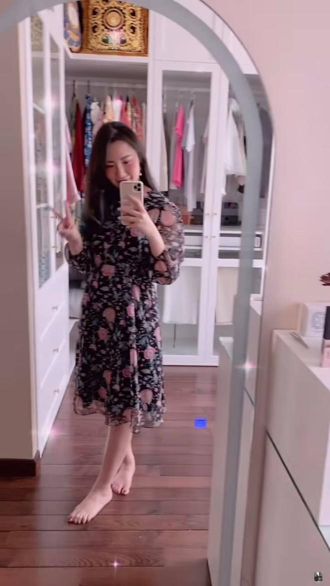 Vợ TGĐ Phan Thành show cận cảnh nhan sắc sau tin mang bầu, tiết lộ lý do dạo này hiếm khi xuất hiện trên mạng - ảnh 4