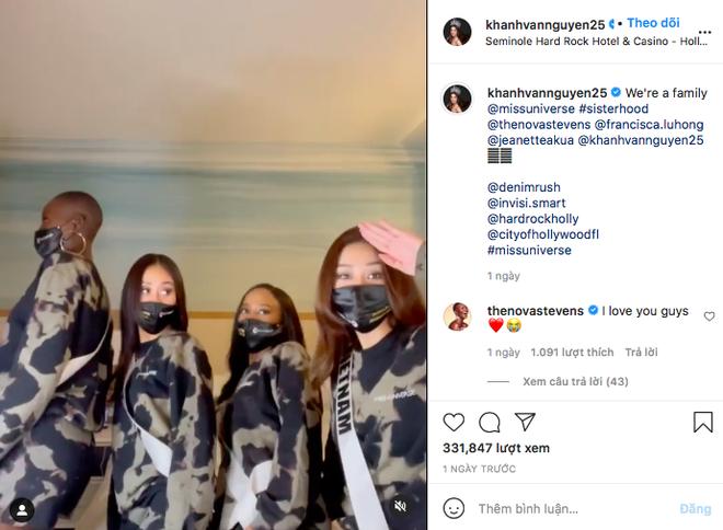 Sau 2 tuần tăng khủng, Instagram của Hoa hậu Khánh Vân cán mốc 500K follower - ảnh 3