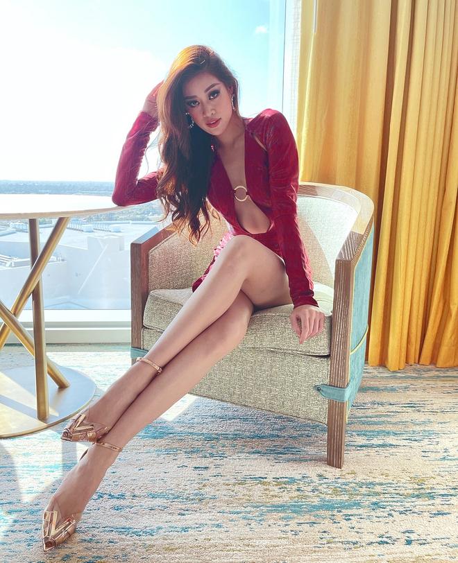 """Nhìn lại visual của Khánh Vân trong đêm Chung kết Miss Universe: """"Đỉnh chóp"""" thế này mà dừng chân ở top 21 quá phí! - Ảnh 13."""