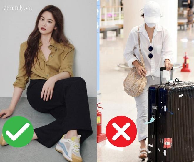 Song Hye Kyo mê diện sơ mi kiểu hờ hững lả lơi: Lên hình thì đẹp nhưng ở ngoài đời có như mơ? - ảnh 13