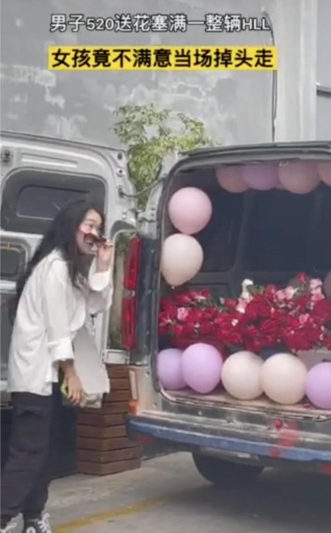 Thanh niên nhờ chở 520 bông hồng tỏ tình, đến nơi cô gái quay đầu đi thẳng - Ảnh 2.
