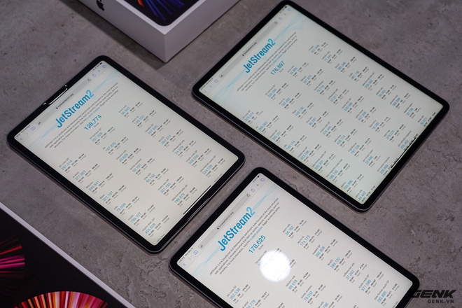 Mở hộp iPad Pro 2021: Ngoại hình không đổi, chip M1 mạnh mẽ, màn hình Mini LED trên bản 12,9 inch rất đẹp - Ảnh 16.