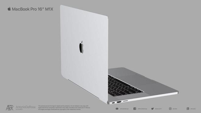 """MacBook Pro thế hệ tiếp theo nhá hàng thiết kế cực chất thông qua loạt ảnh concept đẹp lịm tim"""" - Ảnh 1."""