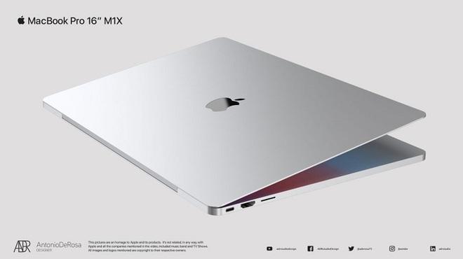"""MacBook Pro thế hệ tiếp theo nhá hàng thiết kế cực chất thông qua loạt ảnh concept đẹp lịm tim"""" - Ảnh 6."""