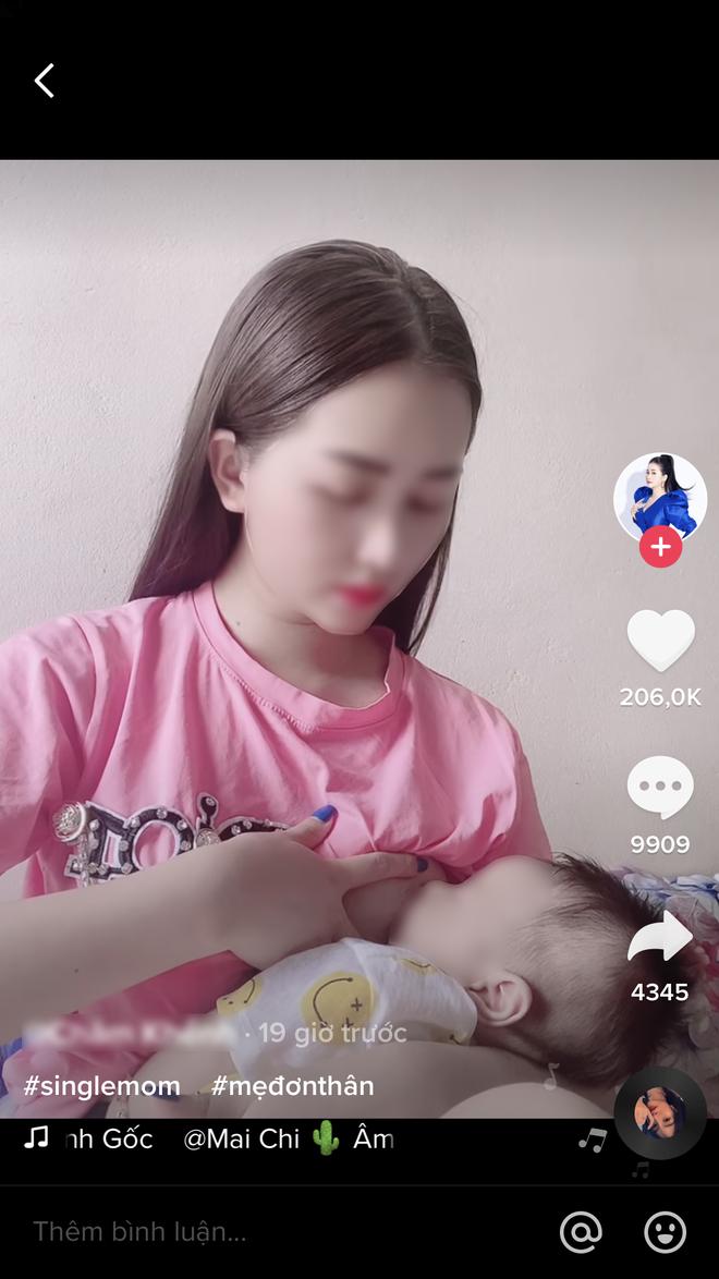 TikTok Việt tràn ngập video cho con bú ăn theo trào lưu #medonthan đầy phản cảm, dân tình lắc đầu ngán ngẩm! - ảnh 2