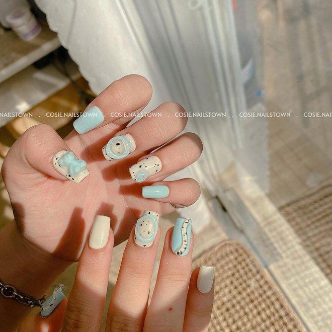 9 mẫu nail mùa hè xinh nhất ở các tiệm lúc này, các nàng chắc chắn chấm được bộ ưng ý  - Ảnh 17.