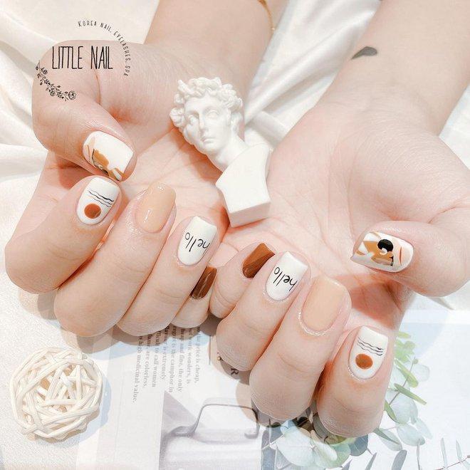 9 mẫu nail mùa hè xinh nhất ở các tiệm lúc này, các nàng chắc chắn chấm được bộ ưng ý  - Ảnh 15.