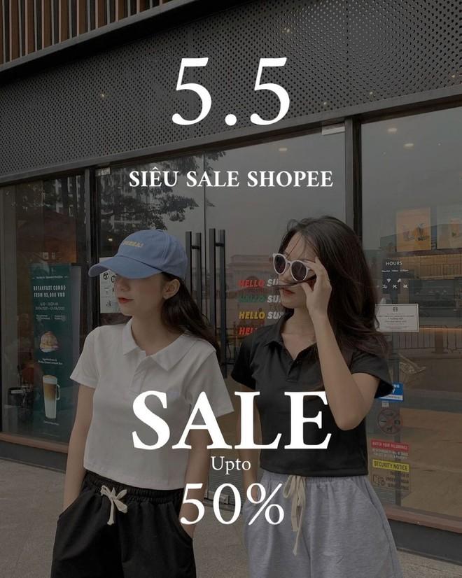 """Loạt shop thời trang rần rần sale 5/5: Giảm đến 50%, chị em nhanh """"chốt đơn"""" đồ hè xinh xẻo giá hời - ảnh 15"""