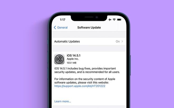 iOS 14.5 gặp vấn đề nghiêm trọng, Apple vội vã tung ra bản cập nhật để vá lỗi, người dùng cần tải về ngay! - ảnh 2