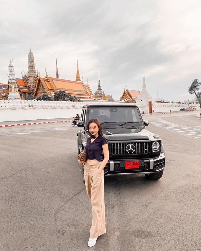 Gái đẹp lấy đại gia Thái Lan lại khoe chồng chiều, nhưng lần này dàn xe sang lấp ló mới là thứ giật spotlight - ảnh 5
