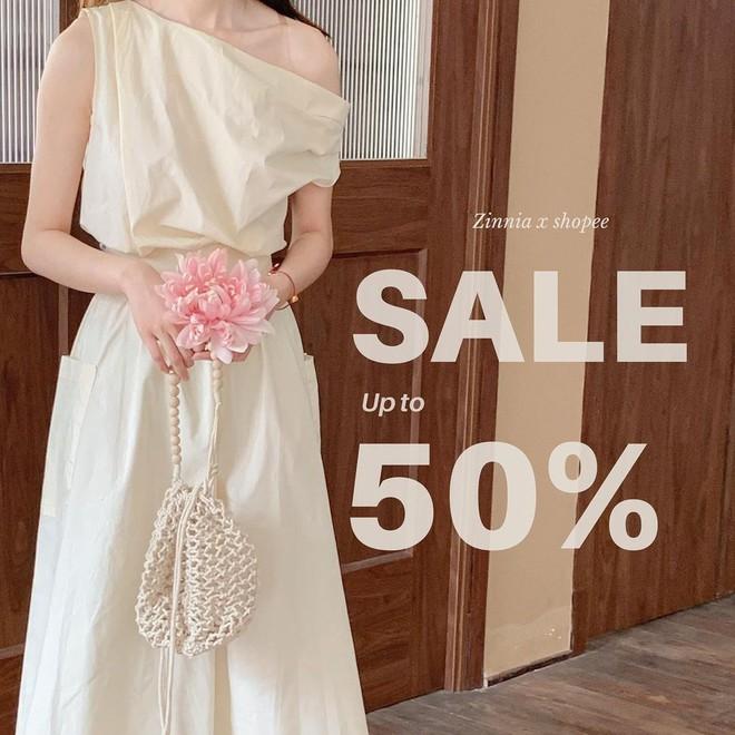 """Loạt shop thời trang rần rần sale 5/5: Giảm đến 50%, chị em nhanh """"chốt đơn"""" đồ hè xinh xẻo giá hời - ảnh 7"""