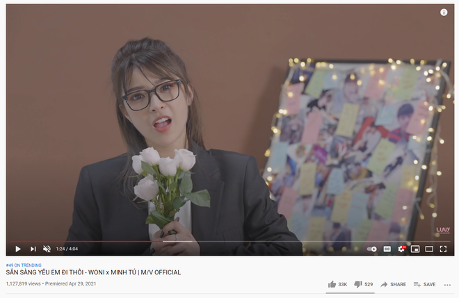 Nữ tân binh Vpop tung MV cùng ngày Sơn Tùng comeback và cái kết lượt view chỉ bằng 1/36! - ảnh 2