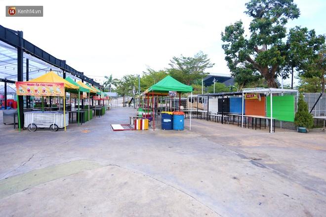 Ảnh: Bãi biển, khu vui chơi ở Đà Nẵng vắng bóng người trong ngày đầu siết chặt các biện pháp phòng, chống Covid-19 - ảnh 20