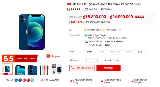 iPhone và nhiều sản phẩm Apple đang được giảm giá sâu trong ngày hội siêu sale 5/5 - ảnh 5
