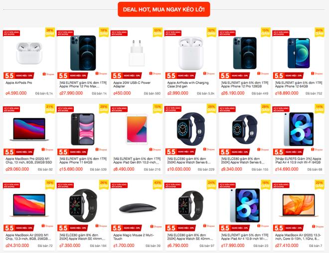 iPhone và nhiều sản phẩm Apple đang được giảm giá sâu trong ngày hội siêu sale 5/5 - ảnh 2