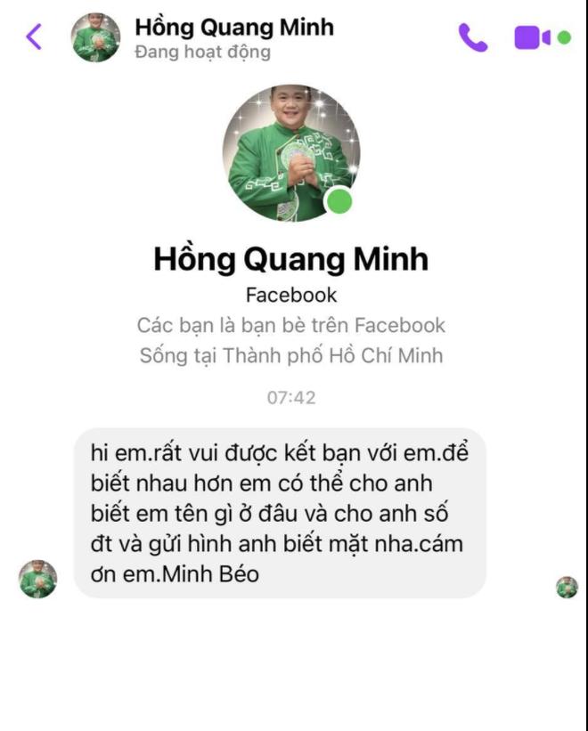 Nam diễn viên tố bị Minh Béo lạm dụng tình dục qua việc tuyển dụng nghệ sĩ, tung loạt tin nhắn bằng chứng trao đổi thô tục - Ảnh 4.