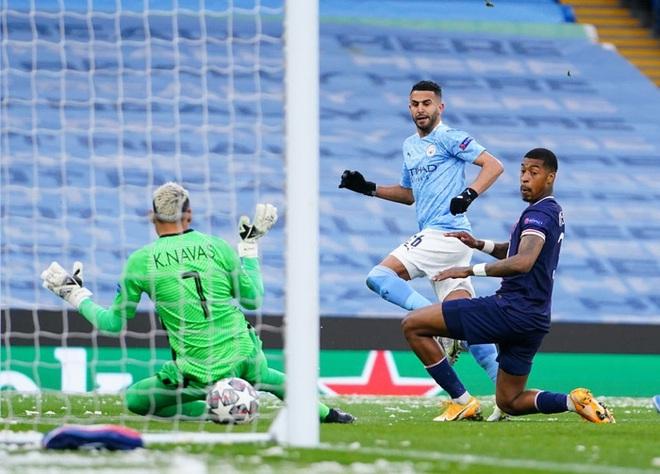 Mahrez lập cú đúp, Man City vượt qua PSG để tiến vào chung kết Champions League - ảnh 2