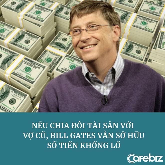 Tuổi 65 của Bill Gates: Độc thân nhiều tiền, nếu xài 1 triệu USD/ngày thì phải mất 400 năm mới tiêu hết tài sản - ảnh 2