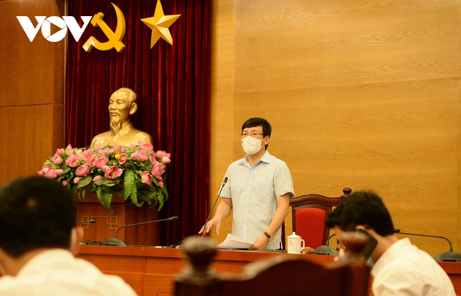 Chủ tịch UBND Vĩnh Phúc: Diễn biến dịch COVID-19 đang ở mức rất nguy hiểm - ảnh 1