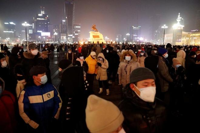 Covid-19 lan ra 21/22 tỉnh, thành ở Mông Cổ, hơn 41.000 người mắc bệnh - ảnh 1