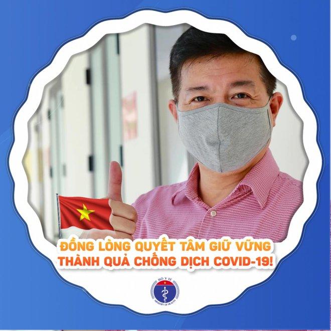Người dân cả nước đồng loạt thay khung ảnh đại diện cổ vũ BV Bệnh Nhiệt đới TW chiến thắng đại dịch COVID-19 - ảnh 7