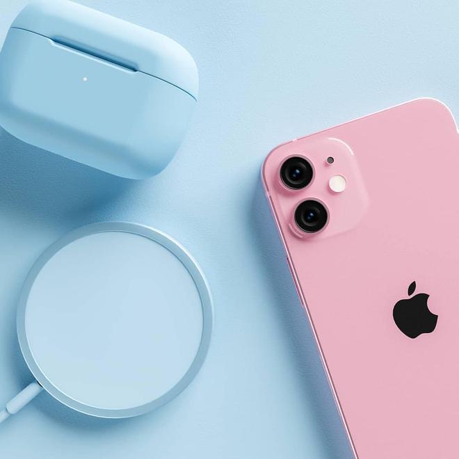 Lộ diện concept iPhone 13 màu hồng sẽ được ra mắt vào năm nay - Ảnh 1.