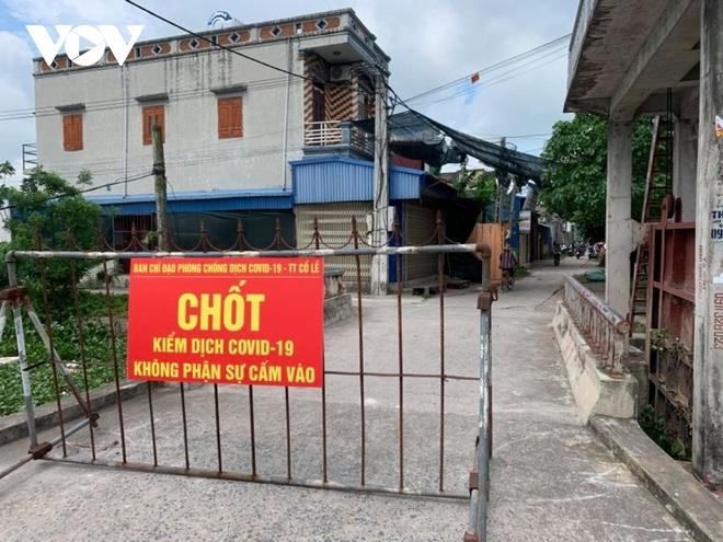 Nam Định phong tỏa một xóm vì có ca nghi mắc COVID-19 liên quan BV Bệnh Nhiệt đới TW - ảnh 1