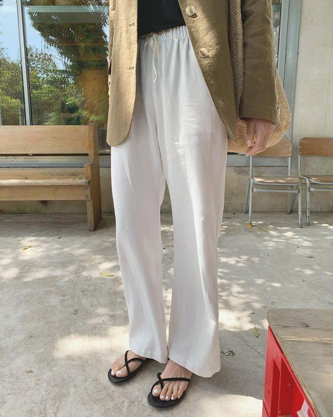 5 mẫu quần nhẹ mát đang được diện nhiều nhất lúc này: Bạn sắm hết là vô cùng sáng suốt! - ảnh 3