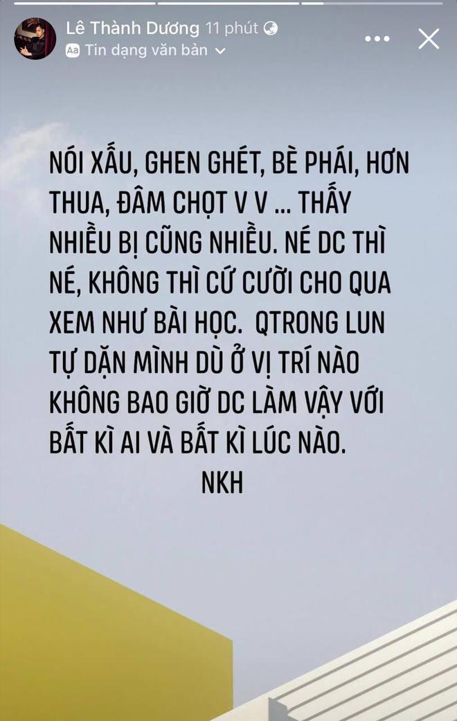 Ngô Kiến Huy bỗng đăng status đá xéo ai đó ghen ghét, bè phái giữa lúc dàn sao Running Man Việt mùa 2 gây tranh cãi? - ảnh 1
