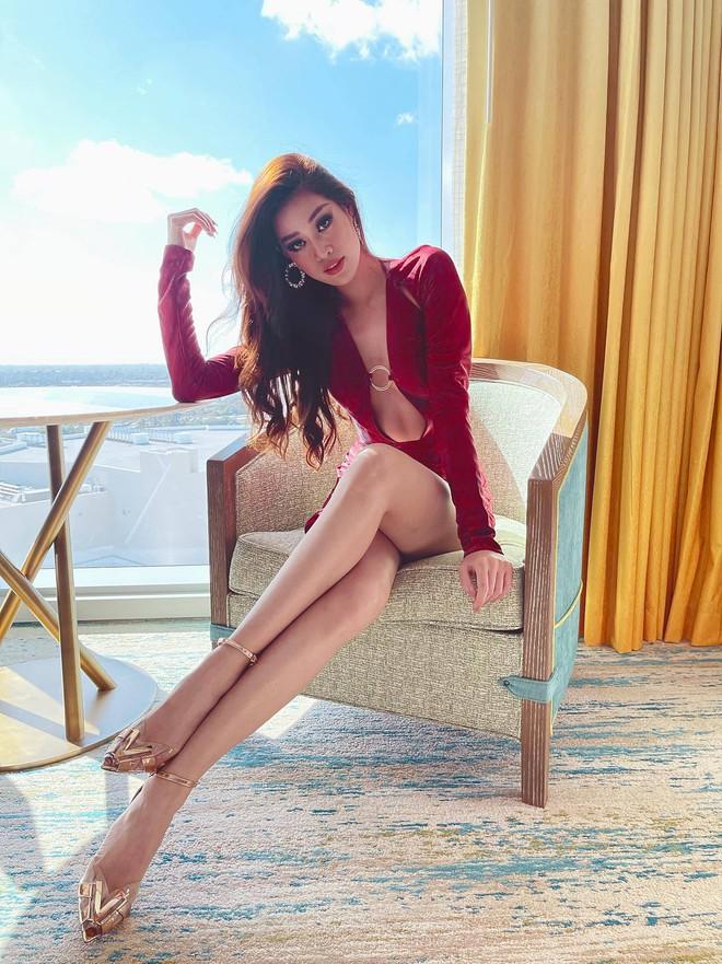 Khánh Vân lại chặt đẹp với outfit hở bạo khoe ngực căng và bụng phẳng, được đối thủ Thái Lan nhận xét thế này? - ảnh 4