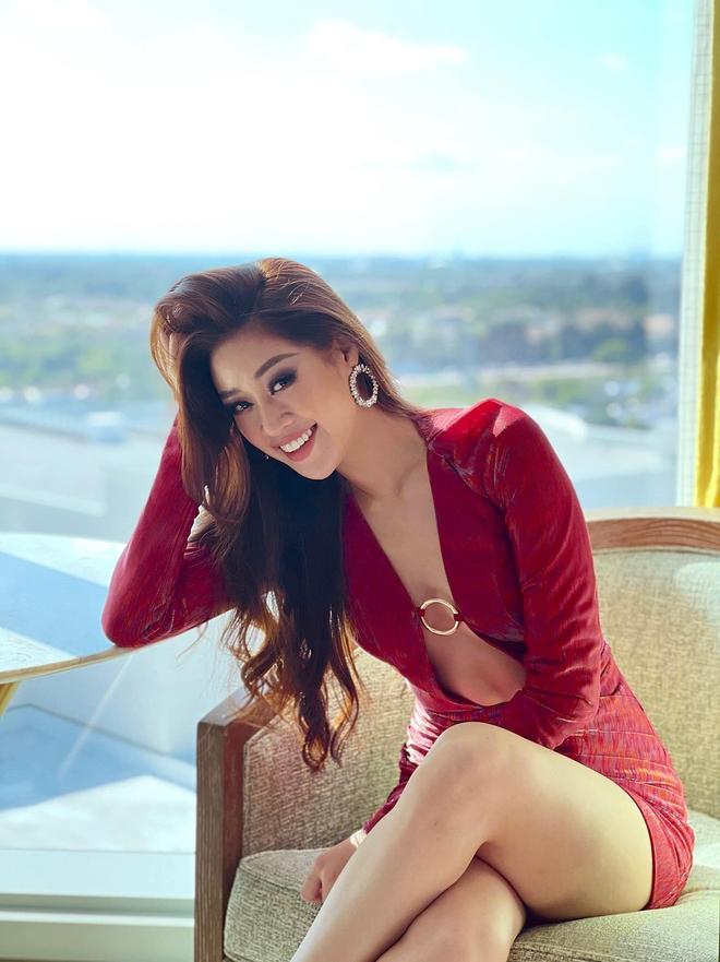 Khánh Vân lại chặt đẹp với outfit hở bạo khoe ngực căng và bụng phẳng, được đối thủ Thái Lan nhận xét thế này? - ảnh 5