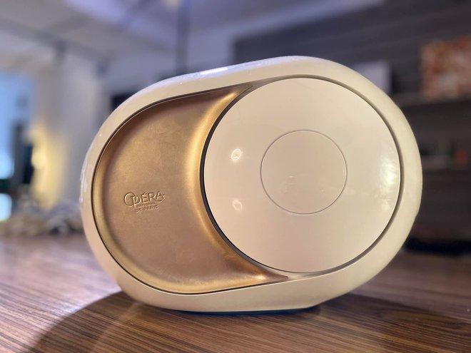 Cận cảnh loa không dây của người chơi hệ nhà giàu: Giá hơn 100 triệu, thiết kế độc lạ, dát đầy vàng lá, công nghệ đỉnh của chóp - ảnh 5