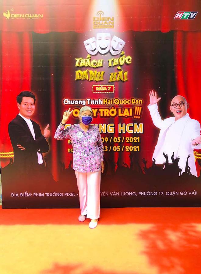 Cô Thiên Thanh - Thánh chửi U80 bất ngờ trở lại tham gia casting lần thứ 3 cho Thách Thức Danh Hài - ảnh 3