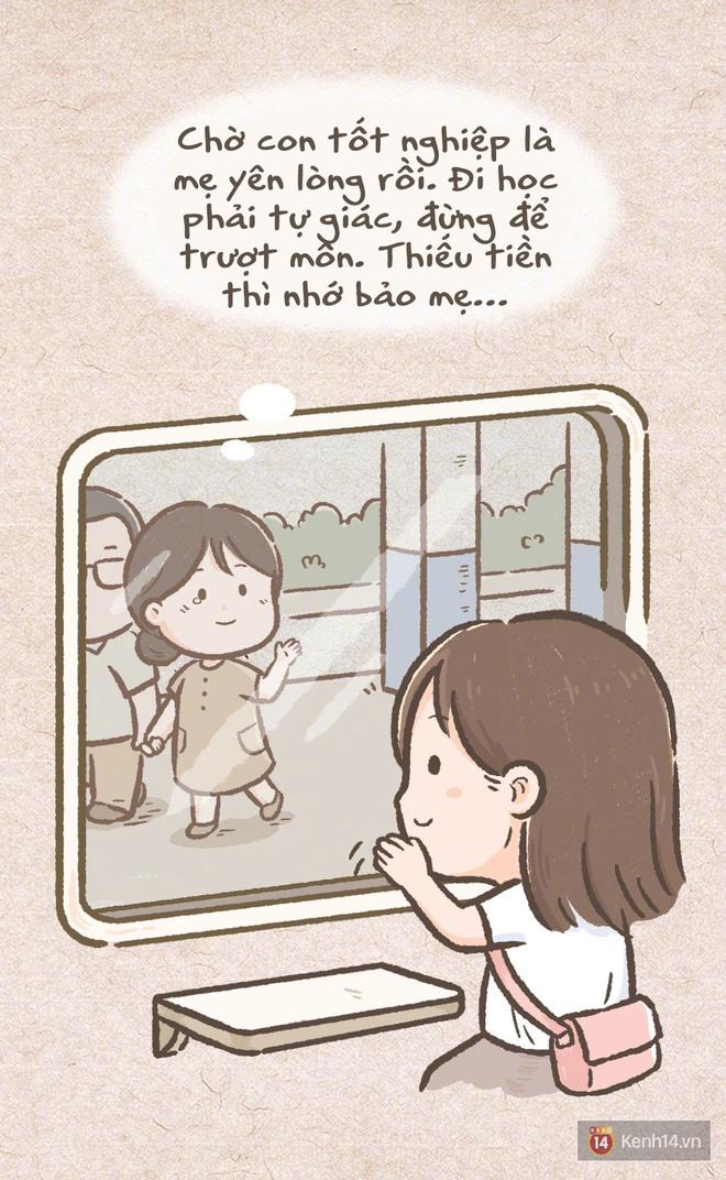 Bộ tranh: Cả cuộc đời, chỉ có mẹ là người duy nhất mãi mãi phải chờ đợi bạn - ảnh 6