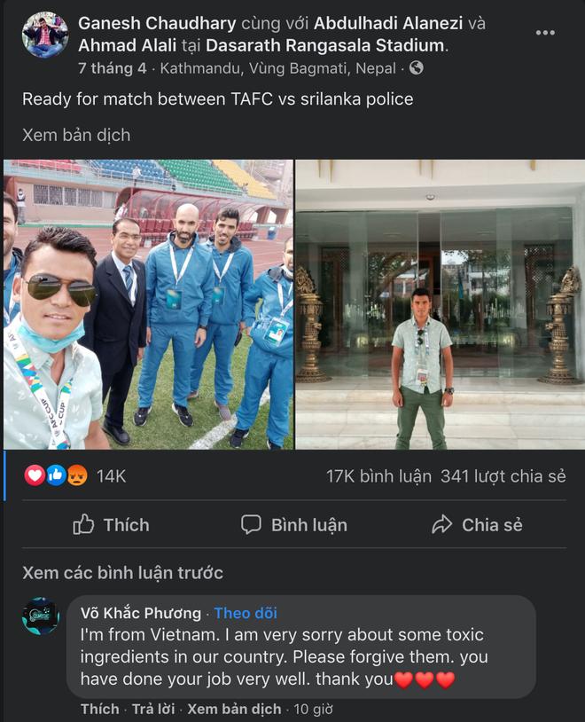 Cộng đồng mạng Việt tiếp tục tràn vào Facebook trọng tài và cầu thủ Indonesia, kẻ làm loạn, người phải đi dọn dẹp - ảnh 4