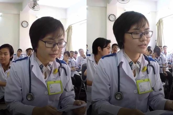 Học Y dễ hay khó? Xem clip nữ sinh thi vấn đáp mà hồi hộp muốn thòng tim ra ngoài - ảnh 1
