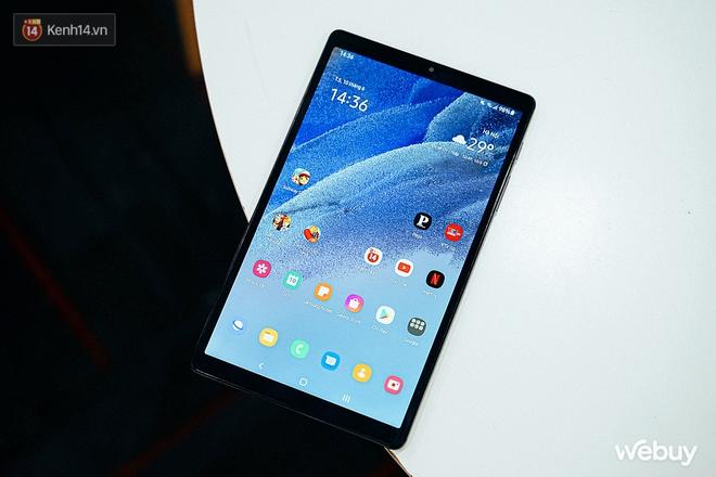 """Đây là Galaxy Tab A7 Lite: Giá phổ thông mà vẫn có tính năng """"sang - xịn - mịn"""", xem phim đọc báo chơi game nhẹ nhàng đều ổn áp - ảnh 1"""