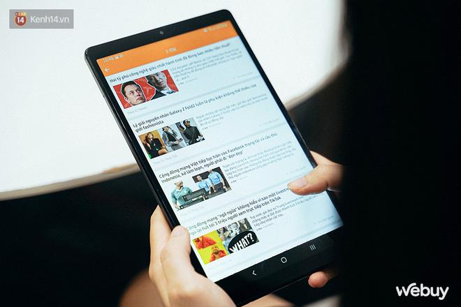 """Đây là Galaxy Tab A7 Lite: Giá phổ thông mà vẫn có tính năng """"sang - xịn - mịn"""", xem phim đọc báo chơi game nhẹ nhàng đều ổn áp - ảnh 8"""