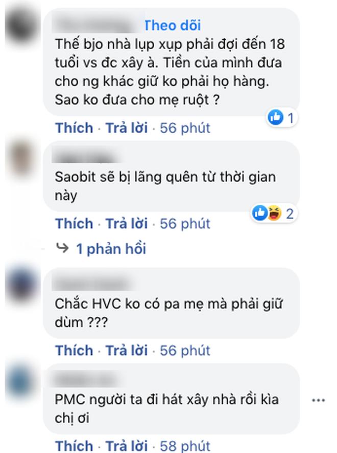 """Phi Nhung khẳng định cát-xê của Hồ Văn Cường do quản lý giữ, netizen thắc mắc: """"Bố mẹ em còn đó sao không gửi qua?"""" - Ảnh 3."""