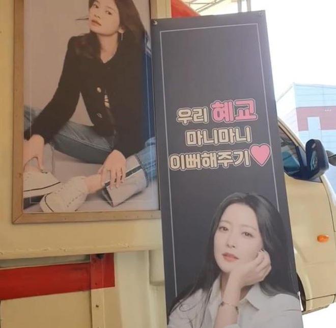 Song Hye Kyo check-in bên bữa tiệc thịnh soạn gây choáng chưa từng thấy, nhân vật bí ẩn nào gửi tặng đây? - ảnh 11